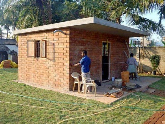 Бюджетный дом (12 фото)