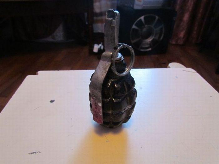 Муляж боевой гранаты (14 фото)