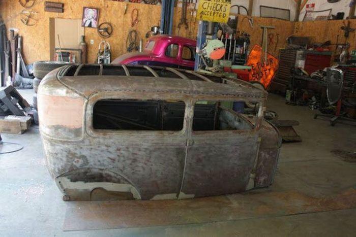 Реставрация машины своими руками 87