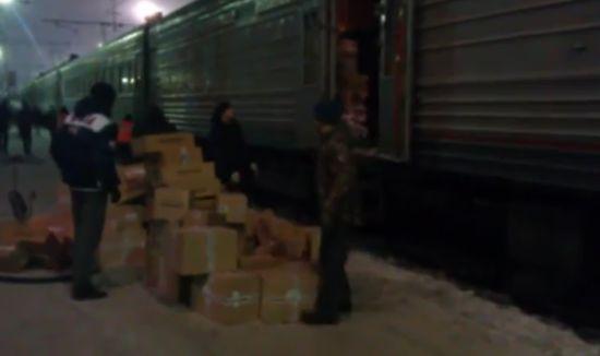 Доставка грузов по-русски (видео)