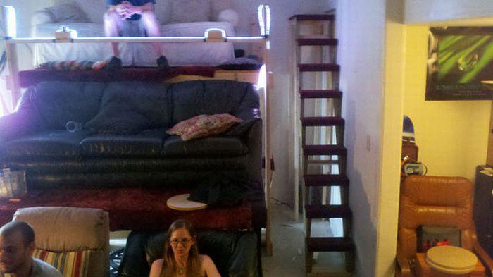 Кинотеатр в общежитии (37 фото)