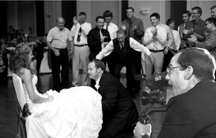 Отец на свадьбе (16 фото)