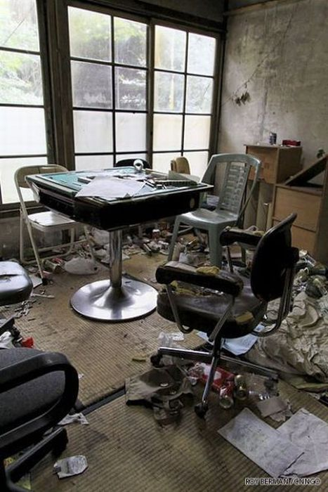 Студенческое общежитие в Японии (20 фото)
