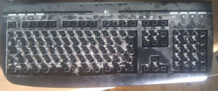 Чистка клавиатуры (7 фото)