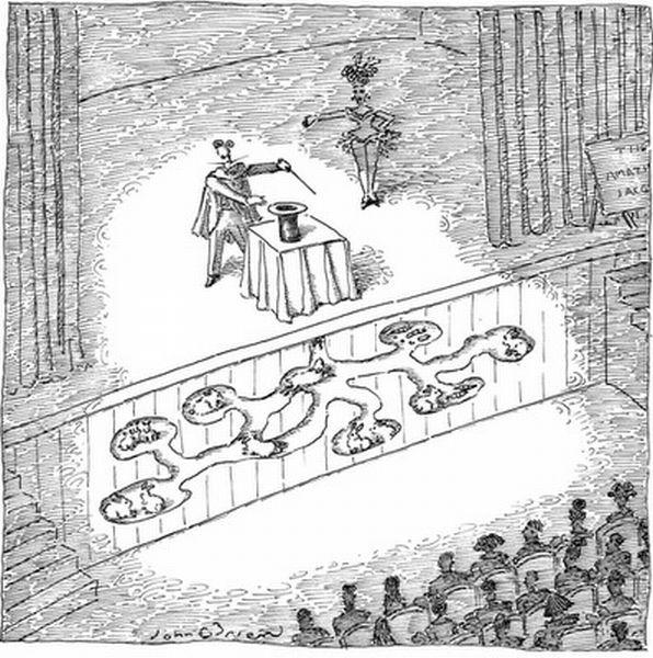 Карикатуры от журнала New Yorker (47 картинок)