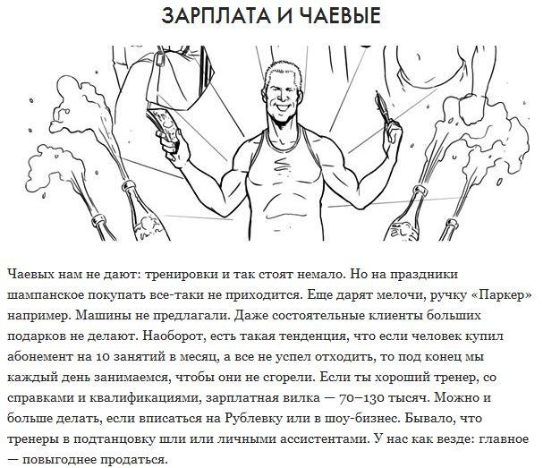 Работа фитнес-тренера. Взгляд изнутри (11 картинок)