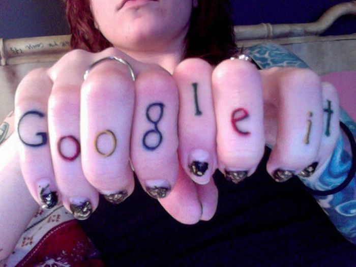 Татуировки брендов (26 фото)