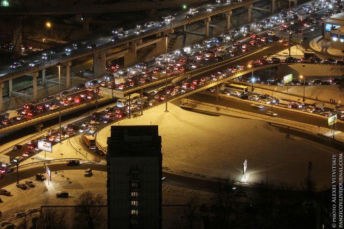 Вид на Москву с Башни Федерации (24 фото)