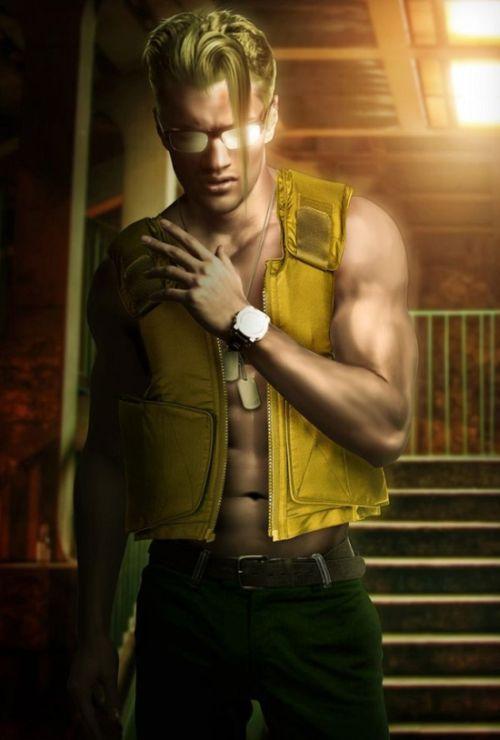 Персонажи из игры Street Fighter в реальной жизни (16 рисунков)