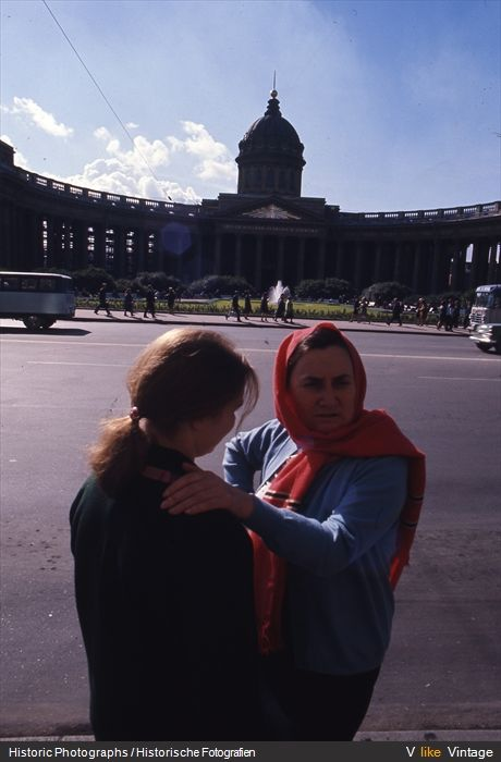 Ленинград 1965 года глазами иностранца (51 фото)