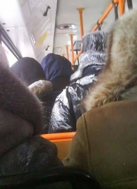 Суровый Норильский транспорт (6 фото)