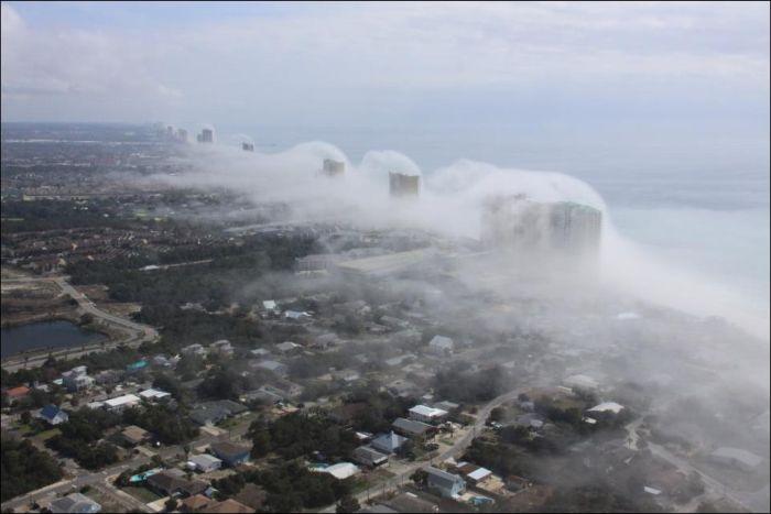 Ветер на побережье Флориды (5 фото)