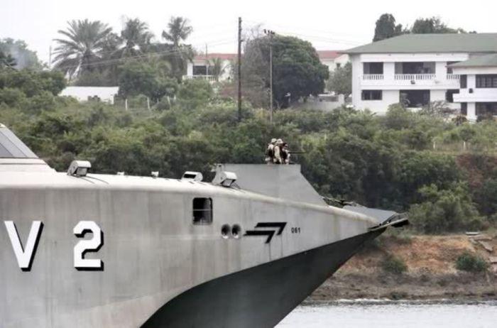 Военный катамаран (28 фото)