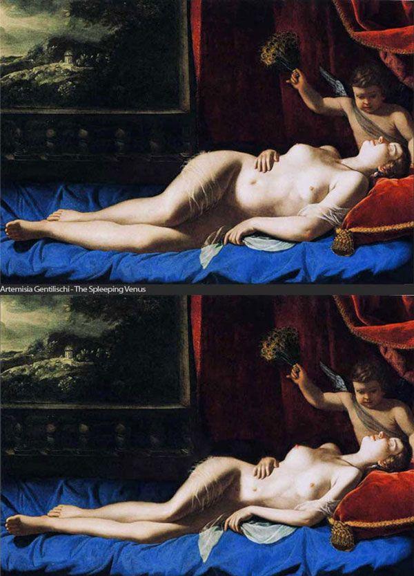 Фотошоп и произведения искусства (7 картин)