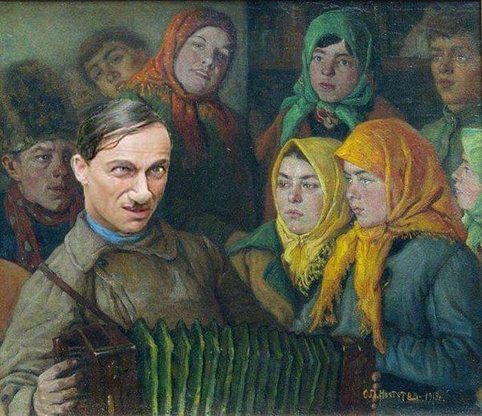 Произведения искусства на новый лад (41 картина)