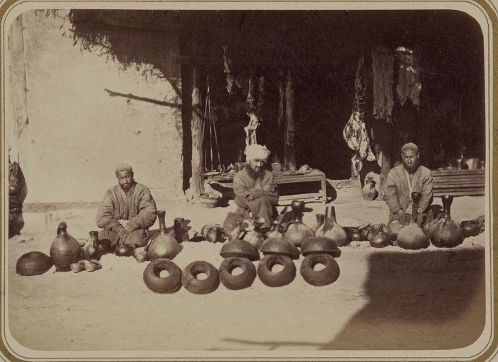 Рынок в Средней Азии 140 лет назад (78 фото)