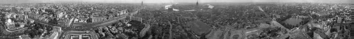 Панорама старой Москвы (1 фото)