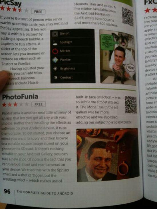 Наши люди в зарубежном журнале о Android (3 фото)