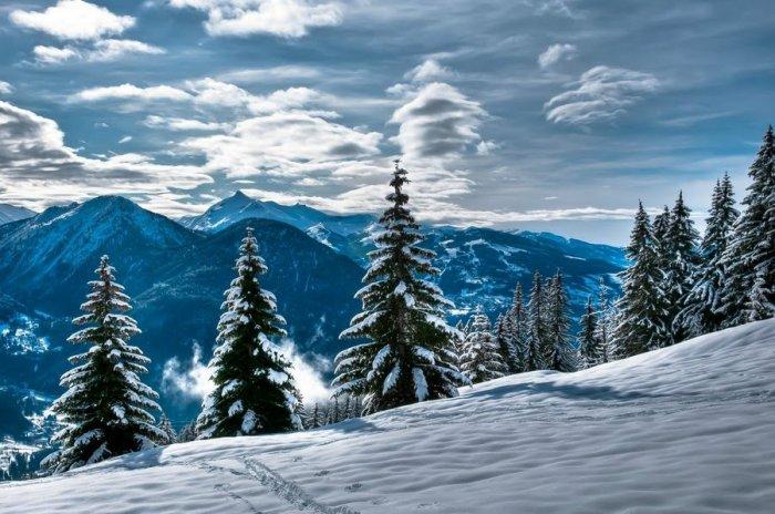 Зима в формате HDR (20 фото)