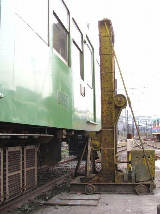 Туалет в китайском поезде (5 фото)