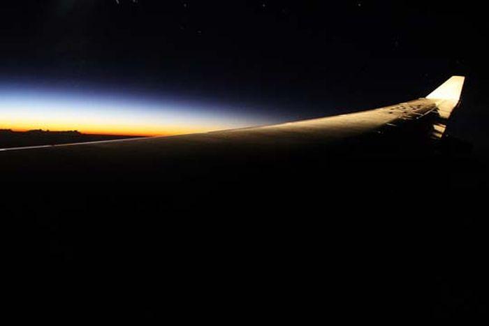 Вид из иллюминатора (50 фото)