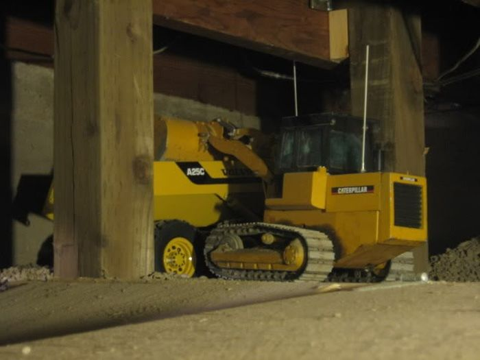 Стройка в гараже (67 фото)