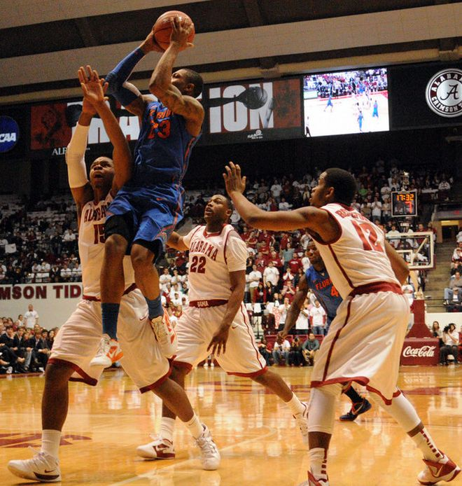 Находчивый баскетбольный фанат (5 фото)