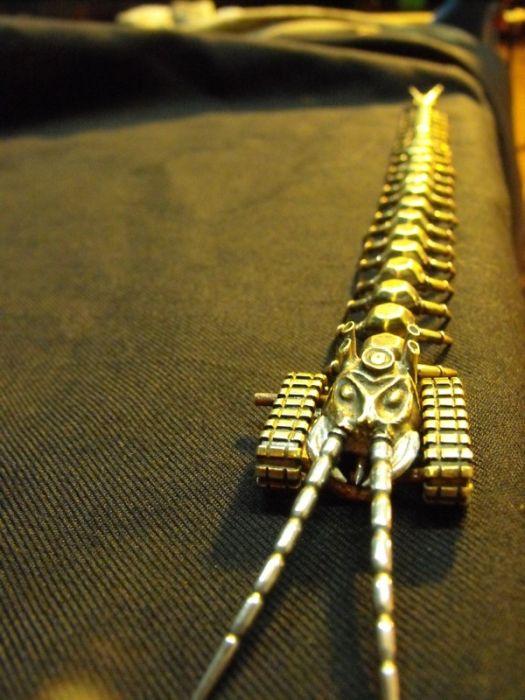 Стимпанк сколопендра (30 фото)