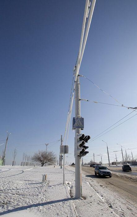 Ледяной шторм в Новороссийске и Ялте (73 фото)