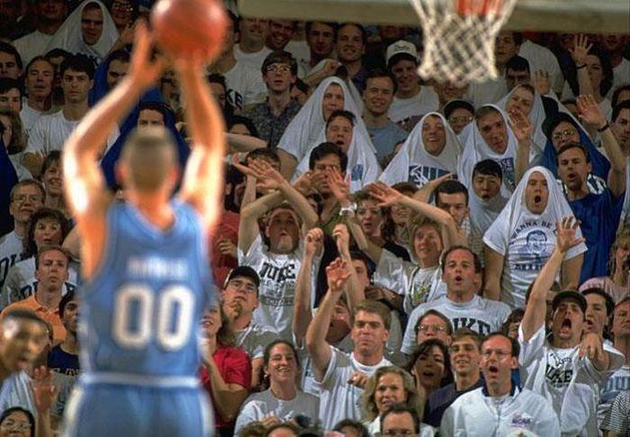 Как отвлечь баскетболиста (30 фото)