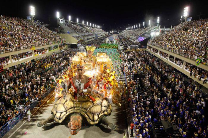 Карнавал в Рио-де-Жанейро (37 фото)
