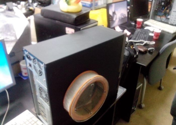 Как избавиться от пыли в системном блоке (3 фото)