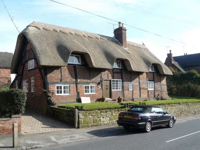 Соломенные крыши Англии (48 фото)