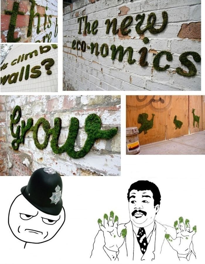 Живые граффити (9 картинок)