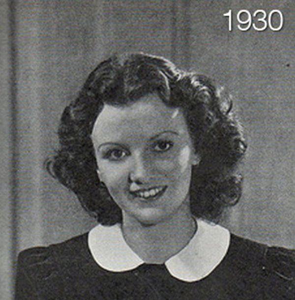 Как менялась женская прическа со временем (11 фото)