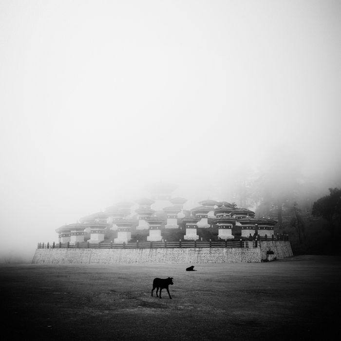 Азия в черно-белых фотографиях (30 фото)