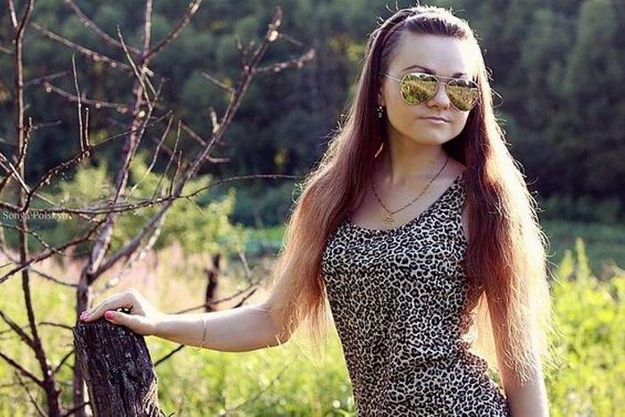 Красивые девушки из социальных сетей (93 фото)