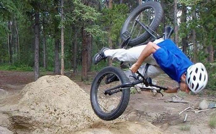 Неудачи велосипедистов (40 фото)