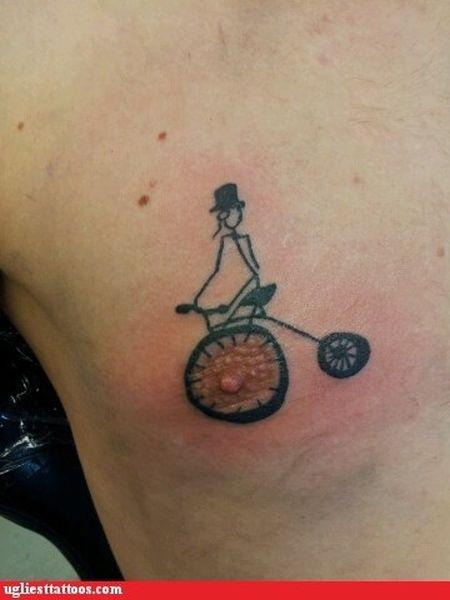 Самые уродливые татуировки. Часть 2 (41 фото)