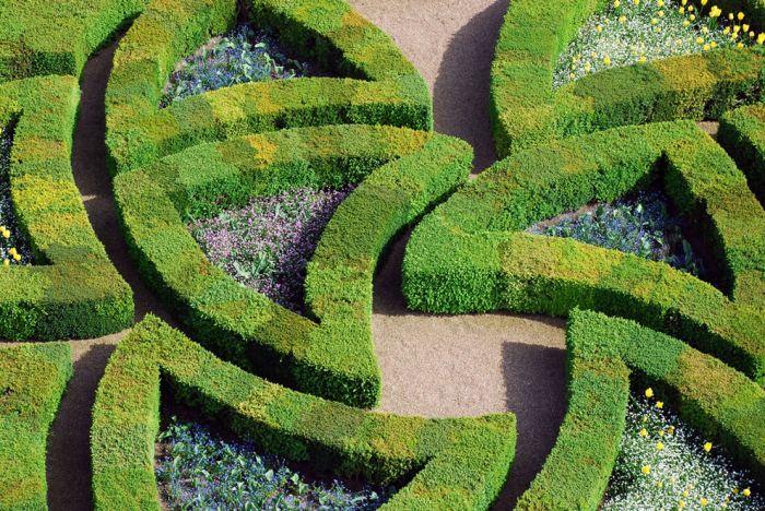 Романтические сады Франции (40 фото)