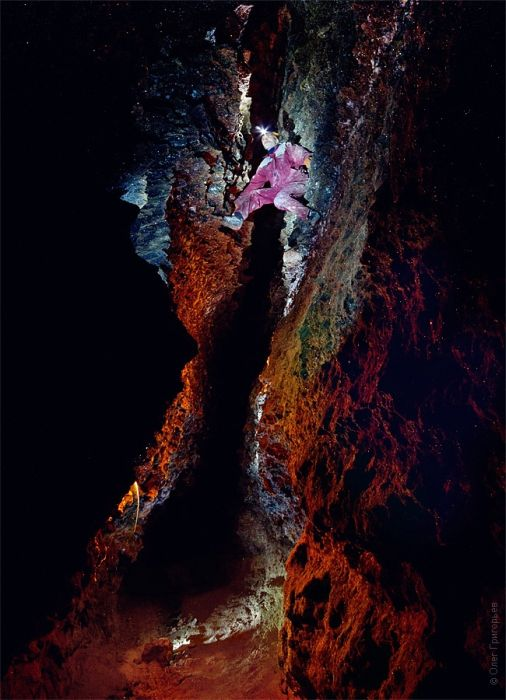 Таинственная пещера Млынки (31 фото)
