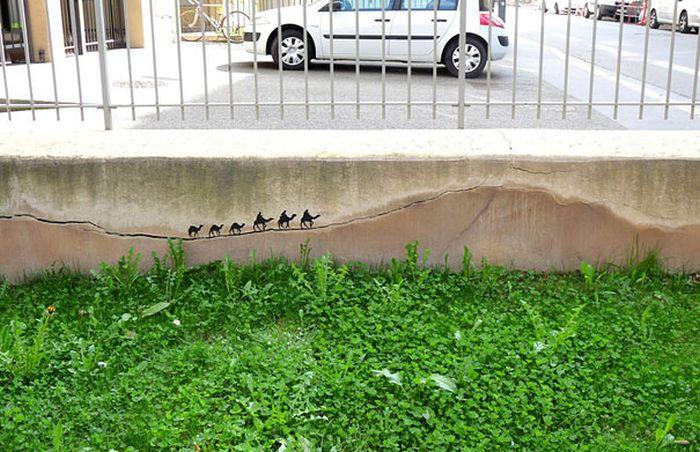 Классный стрит-арт (72 фото)