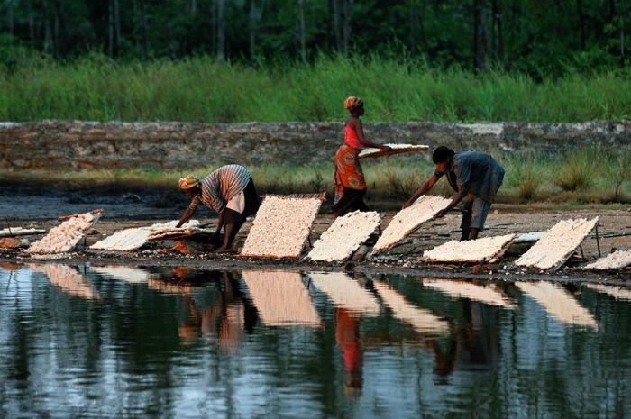 Нефтедобыча в Нигерии (43 фото)