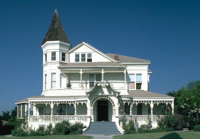 Дома американских пригородов (30 фото)