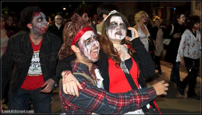 Парад зомби в Тель-Авиве (107 фото)