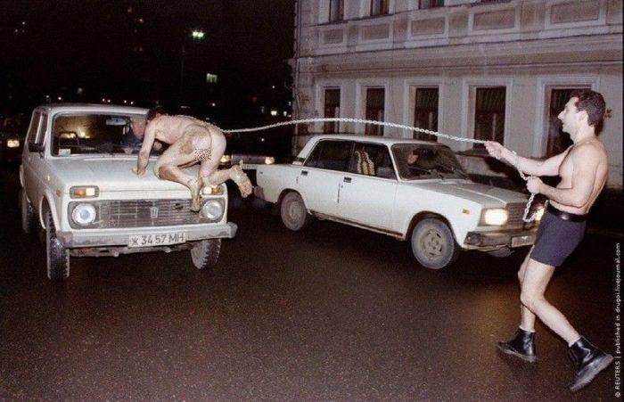 90-е: как это было (28 фото)