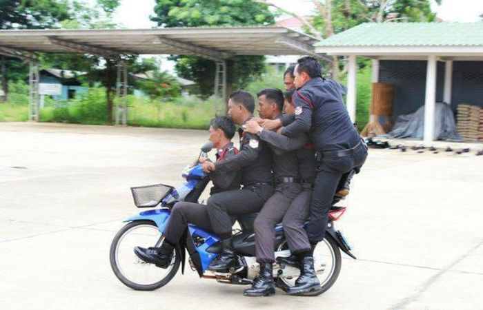 Полицейские приколы (59 фото)
