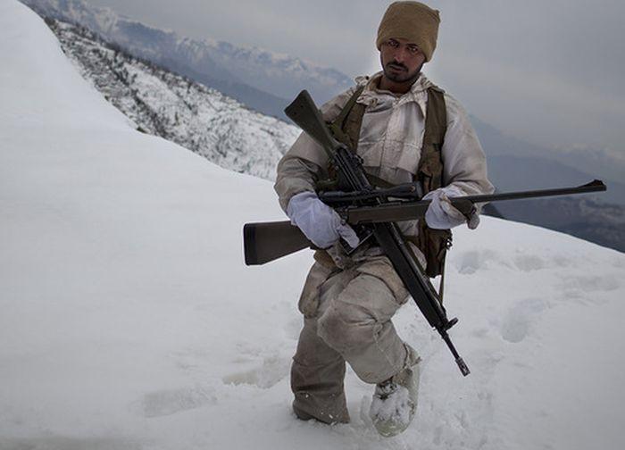 Служба на пакистано-афганской границе (23 фото)