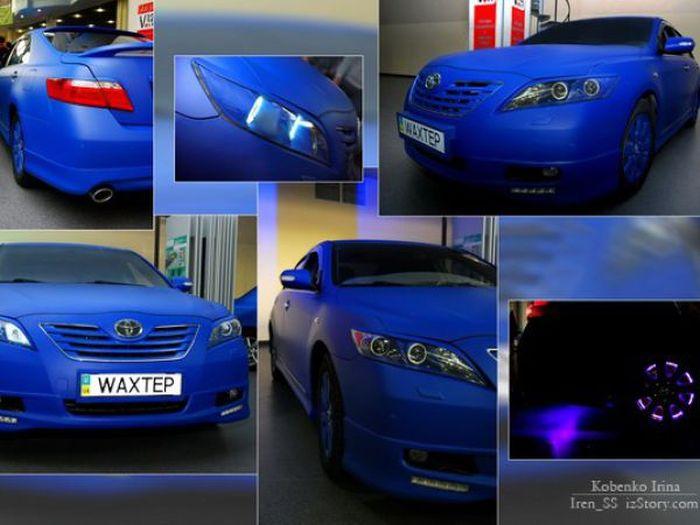 Интересный тюнинг Toyota Camry (31 фото)