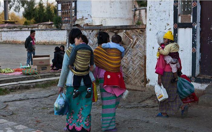 Счастливые люди Бутана (84 фото)